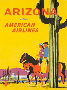 (via The Simmonds Collection - Vintage Airline Posters)