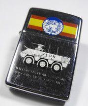 UNITED NATIONS  BOSNIA HERZEGOVINA (España)  (Polished Zippo Code F - (Polish Zippo Code C - X = 1994)