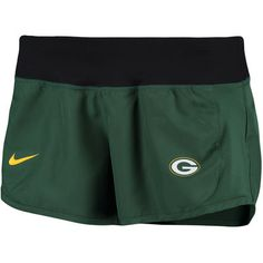 345b2f098ad Women s Green Bay Packers Nike Green Gear Up Crew Performance Shorts