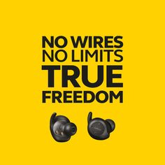 #Jabra Elite Sport comes with No Wires and thus No Limits, helping you to enjoy the feeling of True Freedom. The wires have been cut completely from these earbuds, allowing you to enjoy unlimited range of movement.  These tiny earbuds give you superior sound and call quality with up to 3 hours of battery and up to 9 hours extra with charging case, while being your personal companion at the gym. → http://bit.ly/JabraElite