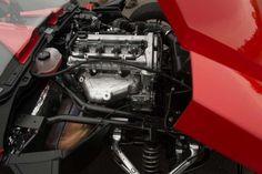 #polaris #slingshot #2.4L #DOHC #EcotecEngine 9.8 gal fuel tank 5 speed manual transmission  short header 173 HP 166 ft-lbs Dry weight  1684 lbs.