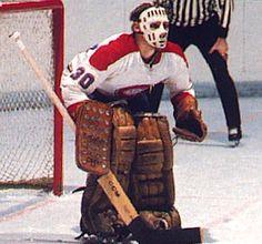 Habs Goalies of 1965 - 1969 - Phil Myre Hockey Shot, Ice Hockey Teams, Hockey Goalie, Hockey Games, Hockey Players, Montreal Canadiens, Nhl, Goalie Mask, Atlanta