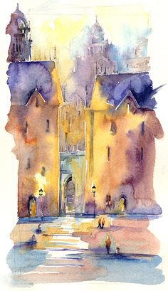 Andrew Geeson:  One of many beautiful watercolors