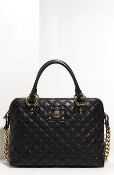 MARC JACOBS 'Quilting Standard' Leather Satchel