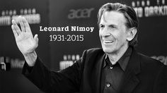 Leonard Nimoy, 'Star Trek's' Spock, Dies at 83 . He will be a great memory Star Trek Spock, Film Story, Leonard Nimoy, Thanks For The Memories, Film Review, We The People, Actors & Actresses, Fangirl, Celebrities