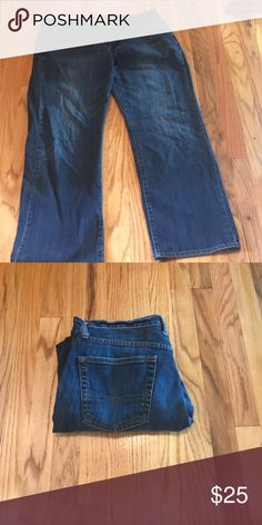 Barely worn Lucky jeans! Sooo cute! 34 by 32!!! These jeans are the most comfortable Lucky jeans. They are vintage 361 straight, that is the style. Your body will fit like a glove in these if you love stylish jeans! I always package my items with care and include a gift to make you smile! Lucky Brand Jeans