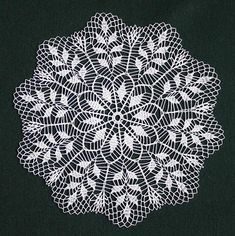 Crochet Doily Fantasy By Creativestuffgo - Diy Crafts - maallure Crochet Doily Patterns, Crochet Motif, Crochet Doilies, Crochet Flowers, Crochet Stitches, Crochet Doily Diagram, Diy Crafts Crochet, Crochet Art, Crochet Gifts