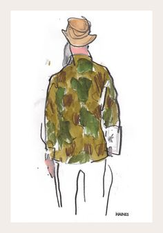 Capsule | Snap Sketch - NYTimes.com - Richard Haines's illustration diary from the men's-wear trade show in New York.