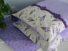 """""""Polštářek - Levandulová kolekce 2"""" (""""Pillow - Lavender Collection 2"""") by Babička Johanka"""