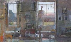 Fred Cuming | Studio with Setting Sun
