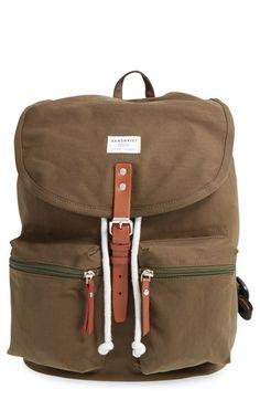 Sandqvist 'Roald' Canvas Backpack