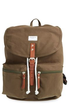 Sandqvist 'Roald' Canvas Backpack