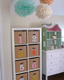 Sea Urchin Studio: DIY kiddo storage tower