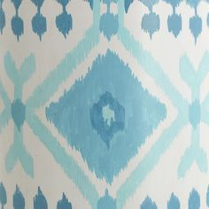 ikat water color