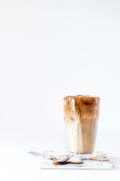 creamy iced coffee