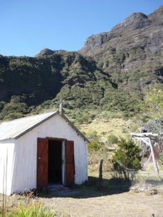 Reunion Island chapelle Mafate