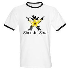 Are you stellar in every way? Show up for your next showdown with this sharp shooting sheriff's badge. Show 'em who's boss!