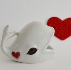 Love is in the air!  It's almost Valentine's Day!! New Whale ring holders are now available....get one while you can.