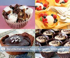 Mini muffin-tin desserts