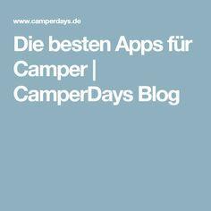 Die besten Apps für Camper | CamperDays Blog
