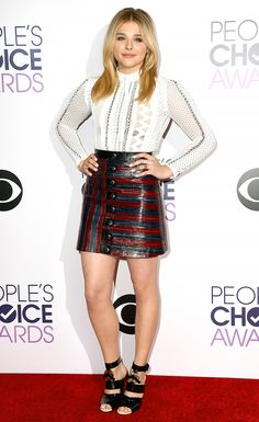 Chloe Grace Moretz at the 2015 People's Choice Awards......LOVE!!