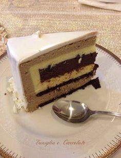 vaniglia e cioccolato: Bavarese Cioccocaffè