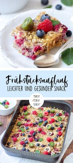 Breakfast casserole with oatmeal and fruits - Breakfast casserole with . - Breakfast casserole with oatmeal and fruit – Breakfast casserole with oatmeal and fruit – - Breakfast Desayunos, Breakfast Casserole, Drink Tumblr, Healthy Fruits, Healthy Recipes, Breakfast Smoothie Recipes, Morning Food, Food Inspiration, Food Porn