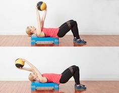 14 Unique Medicine Ball Exercises to Work Your Body and Core: Medicine Ball Pullover