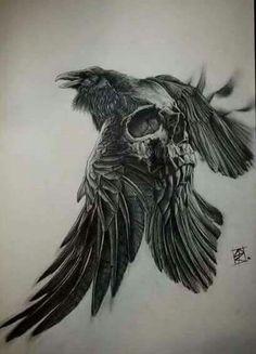 Vikings tv show tee shirts -Liberal Tree Viking – Norse Tattoo Skull Tattoos, Body Art Tattoos, New Tattoos, Sleeve Tattoos, Phoenix Tattoos, Tattoo Crane, Arm Tattoo, Demon Tattoo, Yakuza Tattoo