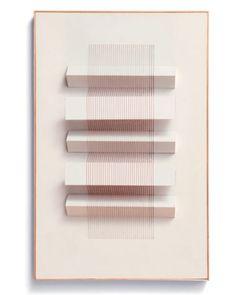 paper thread sculpture