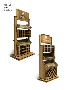 Classic wine rack on Behance