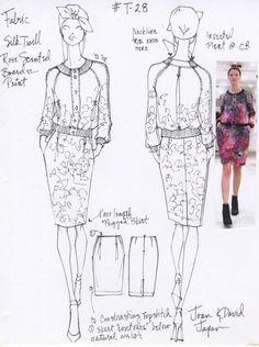 Designs for Joan & David Collection (Japan) 2013 By Renaldo Barnette