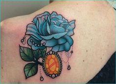 12 Jazzy Jewel Tattoo Design Ideas Pretty Tattoos, Unique Tattoos, Cool Tattoos, Awesome Tattoos, Ring Tattoos, Flower Tattoos, Tatoos, Crab Tattoo, Tattoo Art