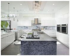 Modern Home in Fort Lauderdale by Britto Charette #bestinteriordesignprojects #Brittoharette