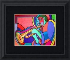 """""""Jazzin"""" by Bryan(Masud) McDowell, Brooklyn,New York //  // Imagekind.com -- Buy stunning fine art prints, framed prints and canvas prints directly from independent working artists and photographers."""