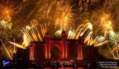 Guinness World Record Fireworks show Dubai, Jan 1 - www.arabiangazette.com #dubai