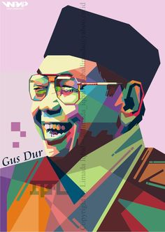 Abdurrahman Wahid (Gus Dur) The 4th President of Republic Indonesia (13.7692@stis.ac.id)
