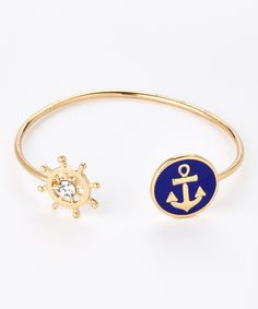 Crystal Anchor Cuff