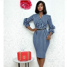 Corporate attire for Women Office Wear Dresses, Dress Outfits, Dresses For Work, Fashion Outfits, Corporate Fashion, Corporate Attire, Latest African Fashion Dresses, African Print Fashion, Classy Work Outfits
