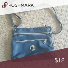 Purse Nice blue purse with cell phone pocket, credit cards slots Relic Bags