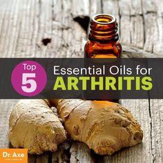 Essential oils for arthritis - Dr. Axe http://www.draxe.com #health #holistic #natural