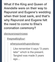 """An Insane Fan Theory That Would Put """"Frozen,"""" """"Tangled,"""" And """"The Little Mermaid"""" In The Same Universe"""