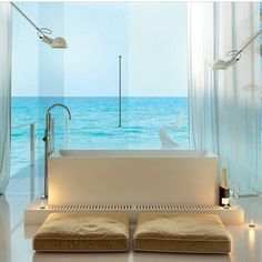 Why can't I wake up to this? #firstworldproblems #whatislife #interiordesign #bathroomgoals