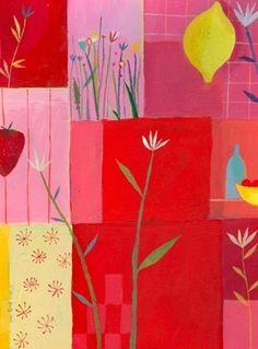 Illustration originale de Aurélia Fronty - Dans la cuisine   Oeuvres   Galerie Robillard