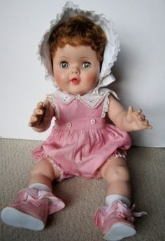 1950's AMERICAN CHARACTER TOODLES DOLL IN ORIGINAL ROMPER