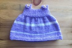 Baby Girl Outfit Knitted Baby Dress Newborn Baby by MovieKnitter