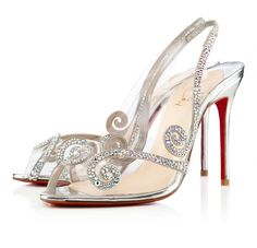 Christian Louboutin Scarpe da Sposa 2013  I would like these as well......yes yes. And then I would throw a Gatsby party, just so I could wear the shoes!