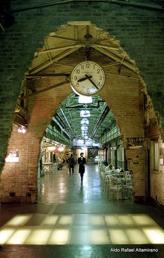 Chelsea Market by Rafakoy, via Flickr