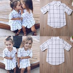 Summer Toddler Kids Baby Girls Outfits Clothes T-shirt Tops Dress Skirt Set 1-6T #Unbranded #Casual