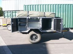 Metalian Maxi 4x4 Trailer: 3CR12 Stainless Steel Offroad Trailers
